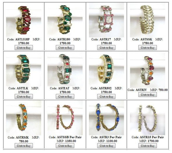 Buy different types of non traditional fashionable vogue Bangles online