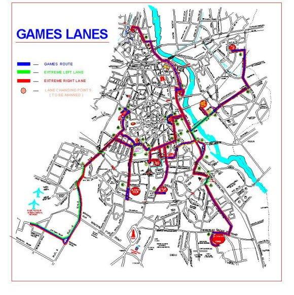 CWG Game Lanes