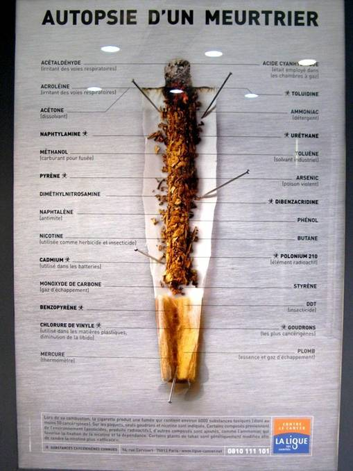 Cigarette Causes Cancer