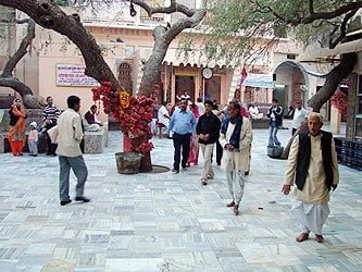 Salasar Temple Inside View