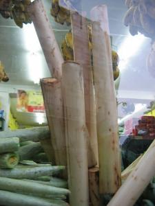 make Spicy Banana Stem