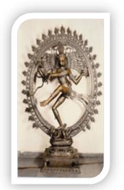 Indian dance natraj
