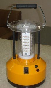 Portable Lantern which 6V power and has 36 LEDs.
